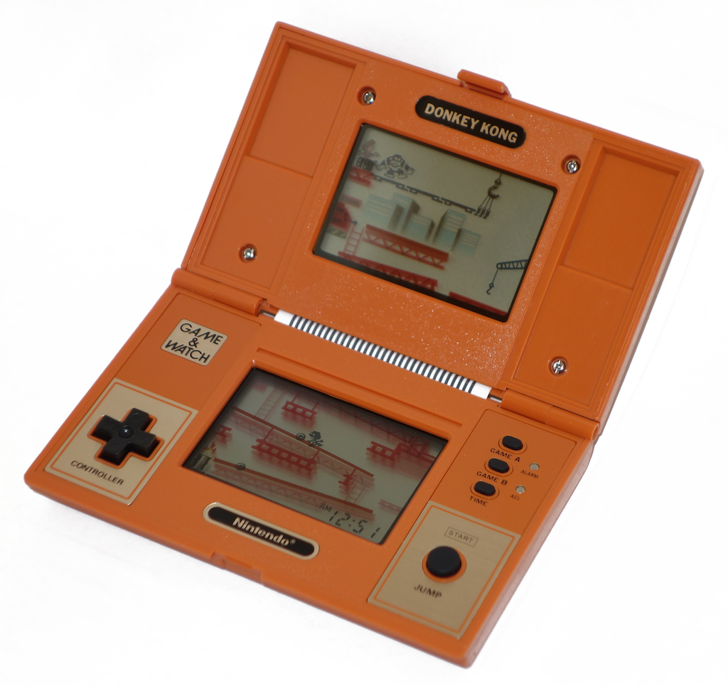 nintendo donkey kong game and watch