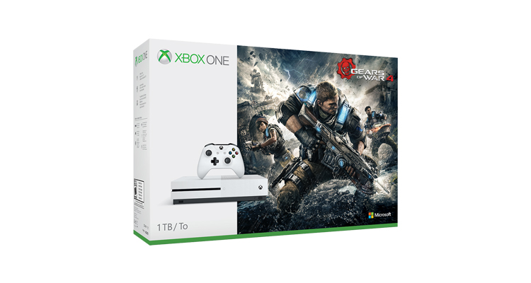 Un nouveau bundle Xbox One S + Gears of War 4