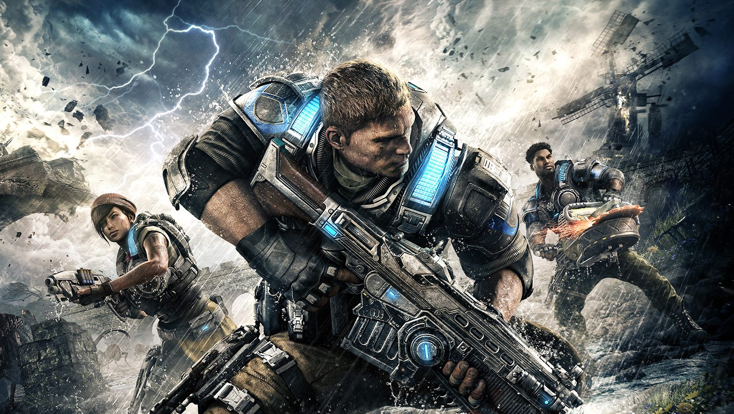 Couverture du jeu Gears of war 4