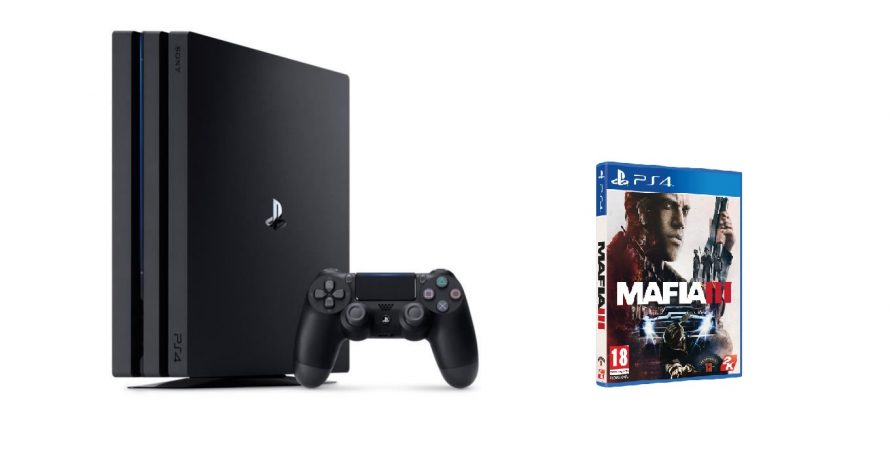 Bon Plan | PS4 Pro 1To + Mafia 3 à 360€