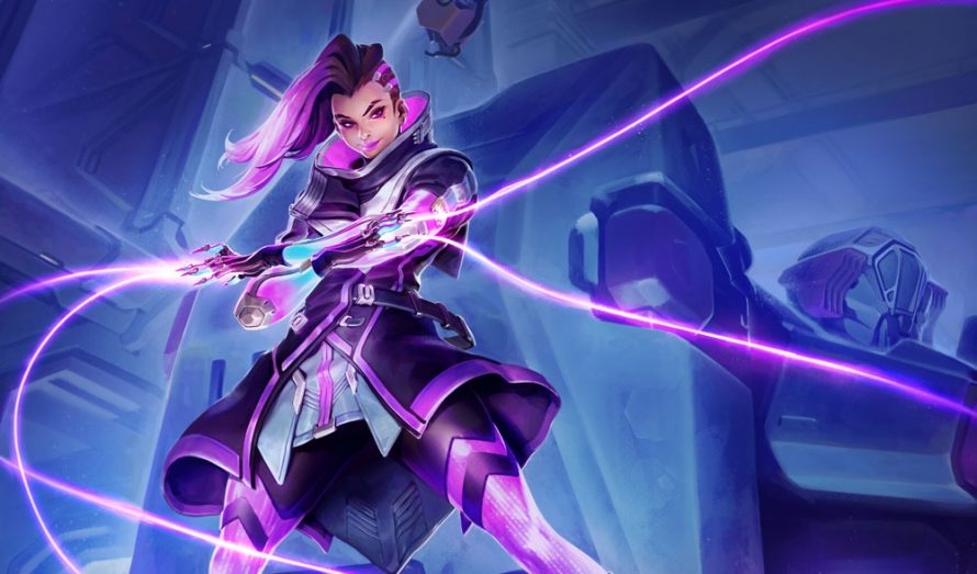 Overwatch : Un artwork officiel de Sombra a fuité !
