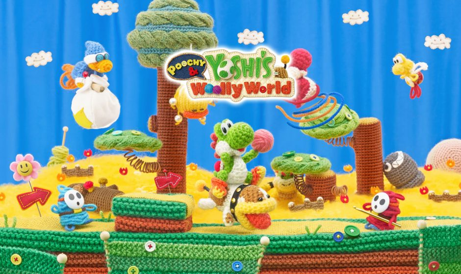 TEST | Poochy & Yoshi's Woolly World - Une histoire coton sur 3DS