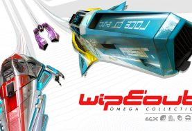 Du gameplay sur PS4 Pro pour WipEout Omega Collection