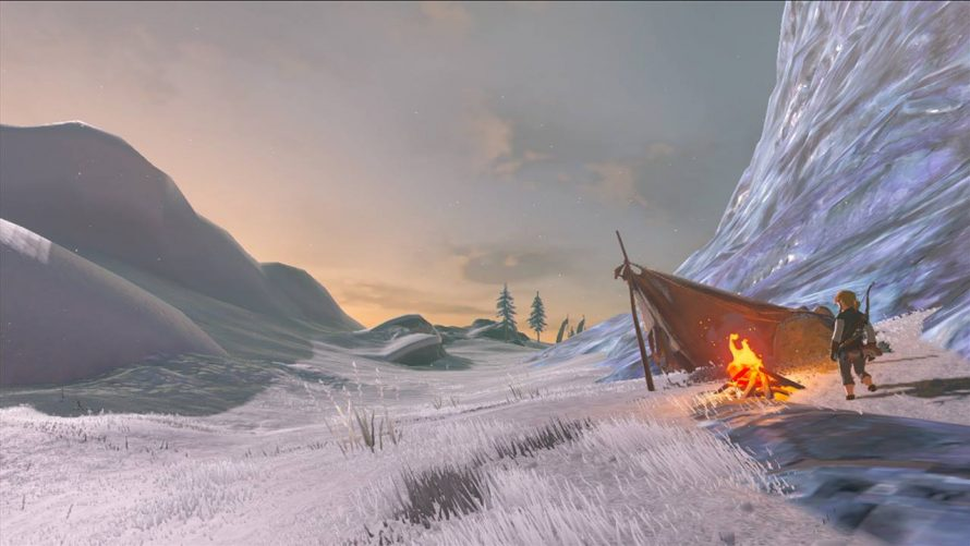 Zelda Breath Of The Wild s'offre un nouveau screenshot