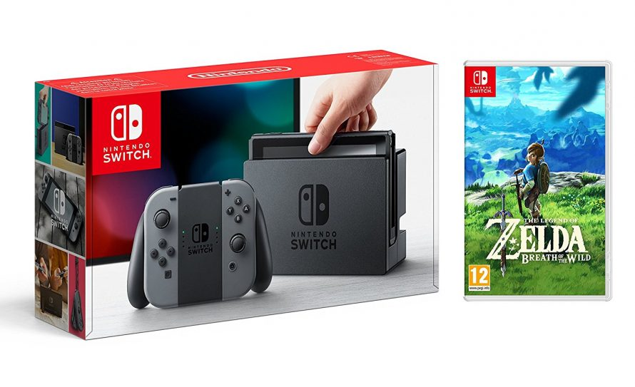 Bon Plan | Nintendo Switch + The Legend of Zelda: Breath of the Wild à 365€