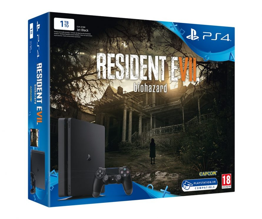 Capcom et Sony annoncent un bundle PS4 Resident Evil 7