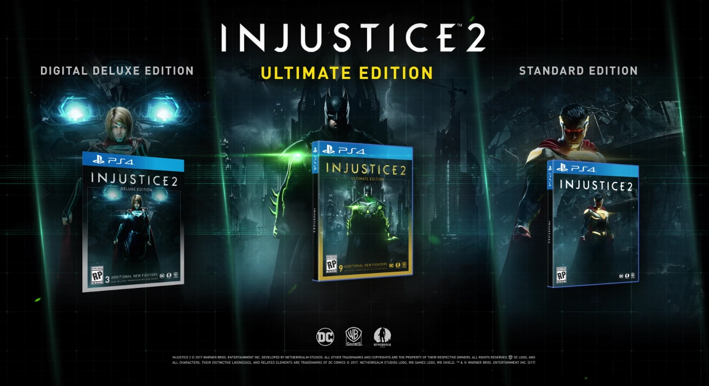 jaquettes Injustice 2