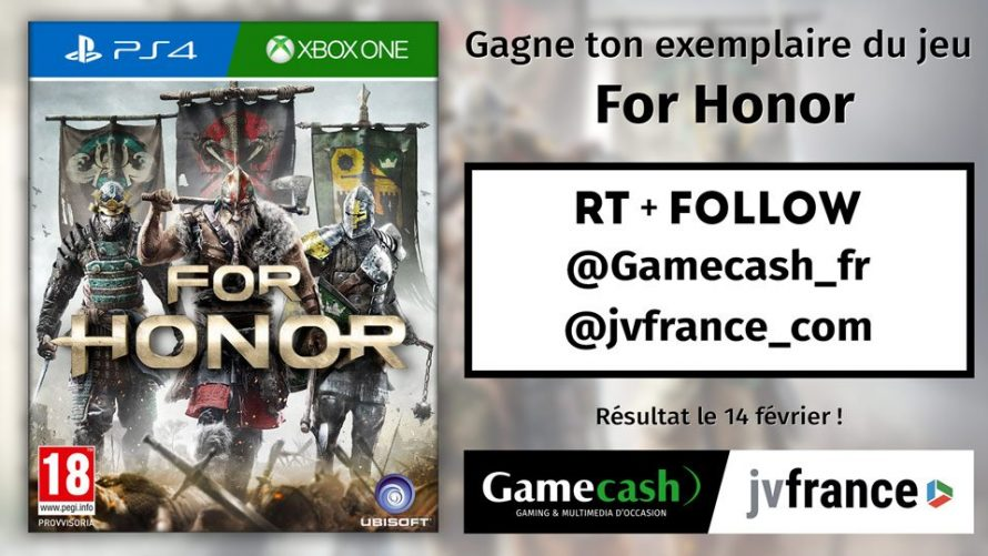 [Concours] For Honor à gagner sur PlayStation 4 ou Xbox One !