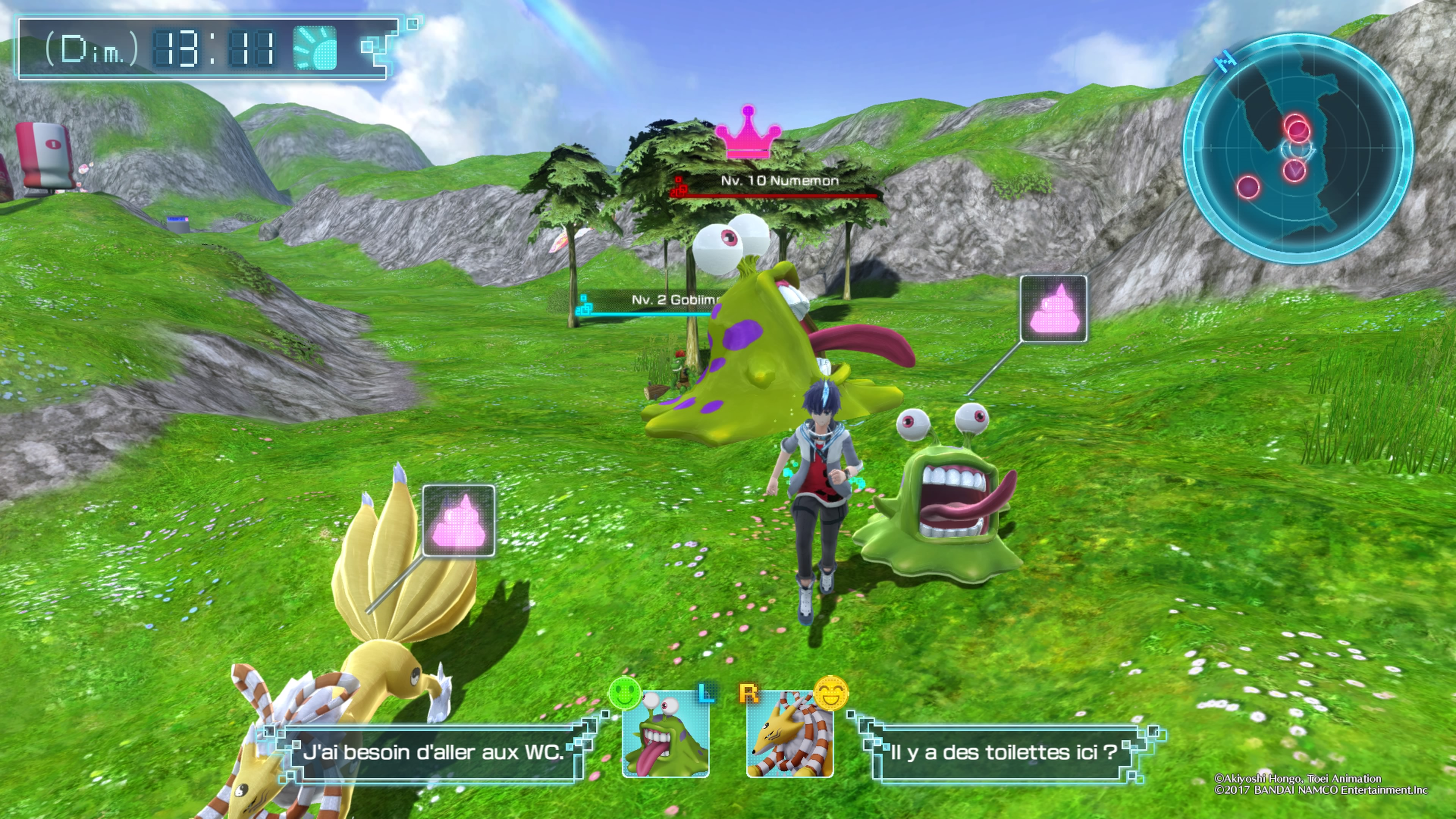 Digimon World next order fuite organisée