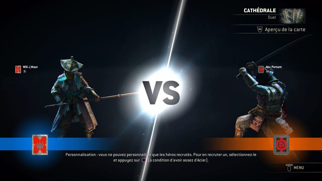 For Honor gameplay 3