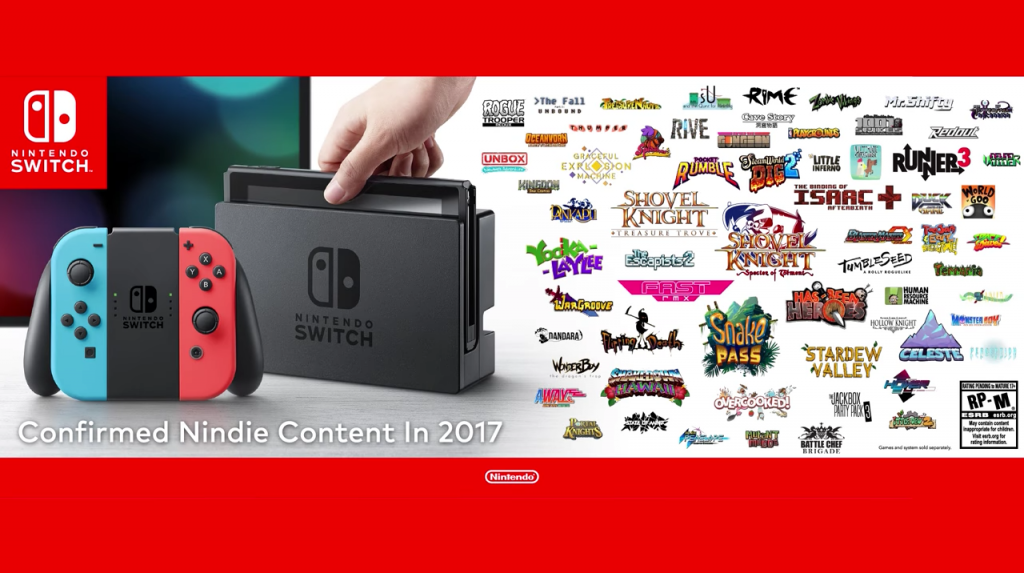 Nintendo Switch Indie Line-up