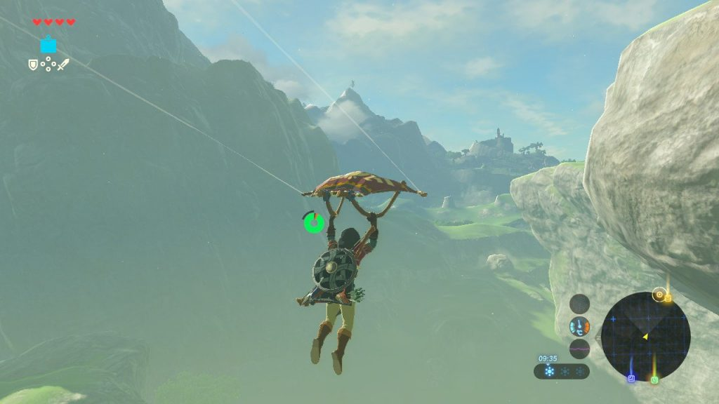 Breath of the Wild paravoile