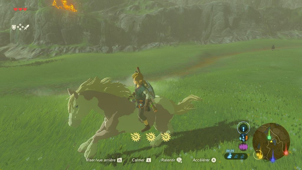 Breath of the Wild horse