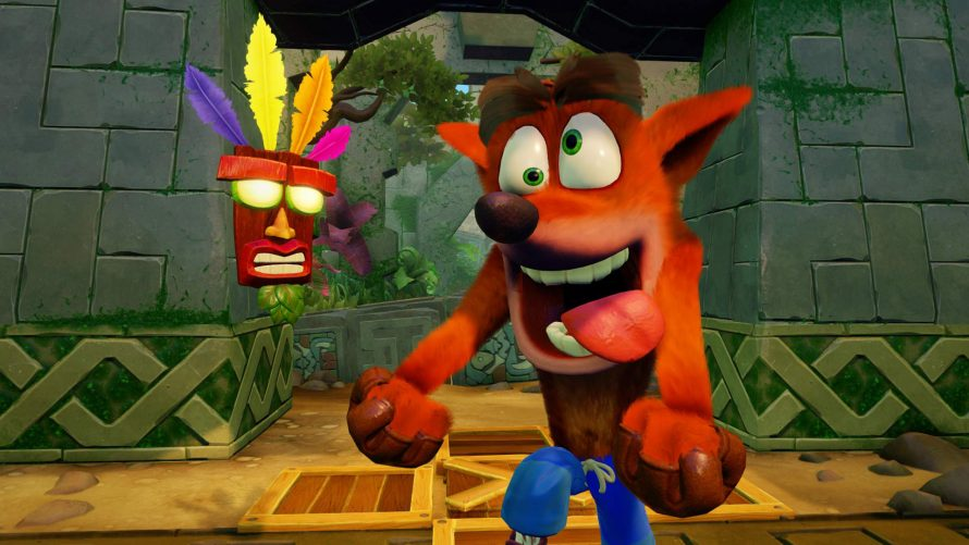 Découvrez l'artwork officiel de Crash Bandicoot N. Sane Trilogy