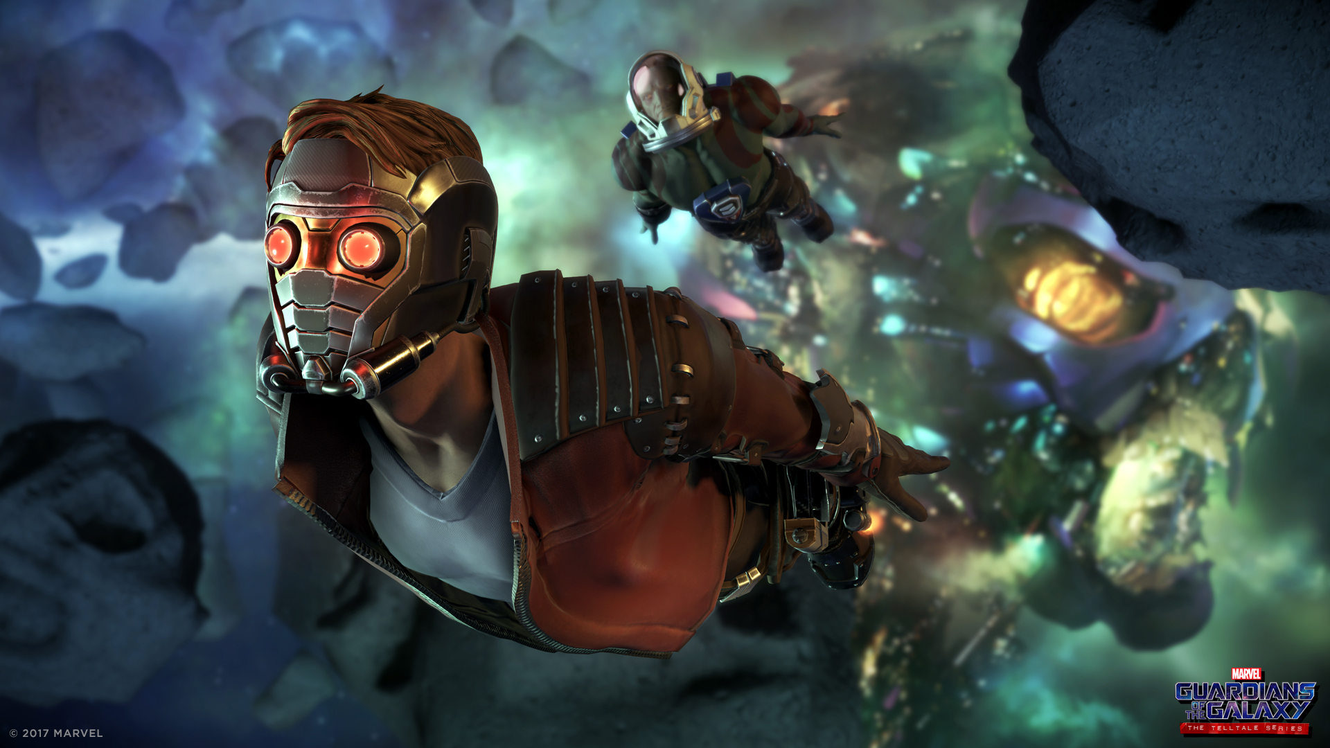 Premiers médias de Marvel's Guardians of the Galaxy: The Telltale Series