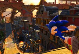 Sonic Forces illustre son niveau Casino Forest
