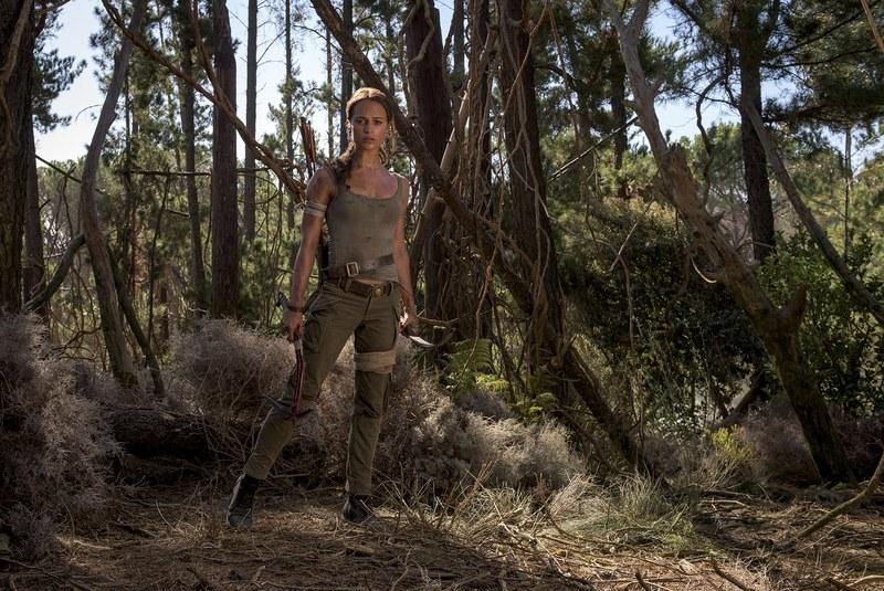 Des visuels inédits pour le film Tomb Raider