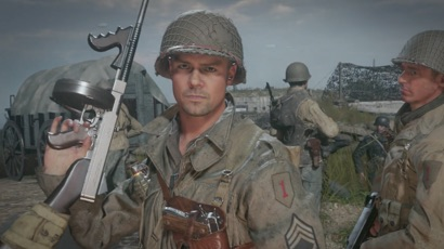 Premières images in-game pour Call of Duty: WWII