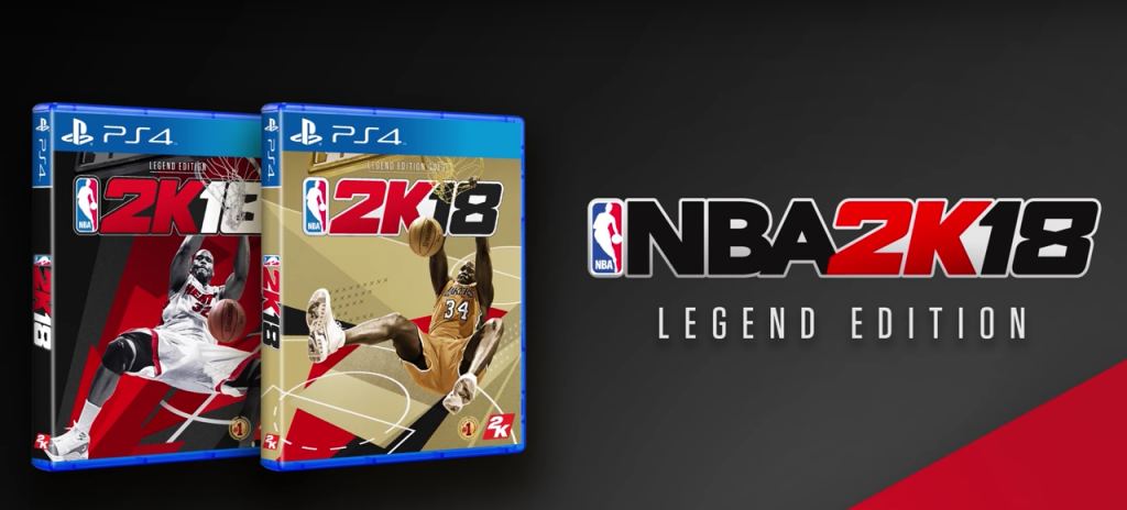 NBA 2K18 Legend Edition cover PS4