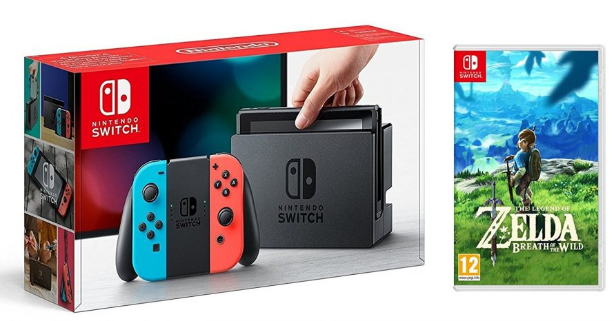 Bon Plan | Un pack Nintendo Switch + Zelda Breath of the Wild à moins de 351€