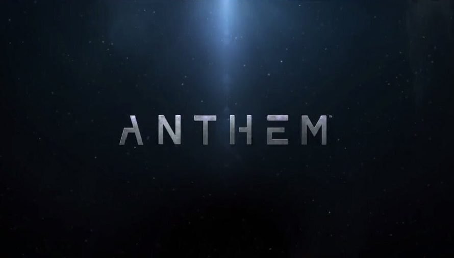 Le jeu Anthem de BioWare (Mass Effect, Dragon Age), en Gameplay Vidéo