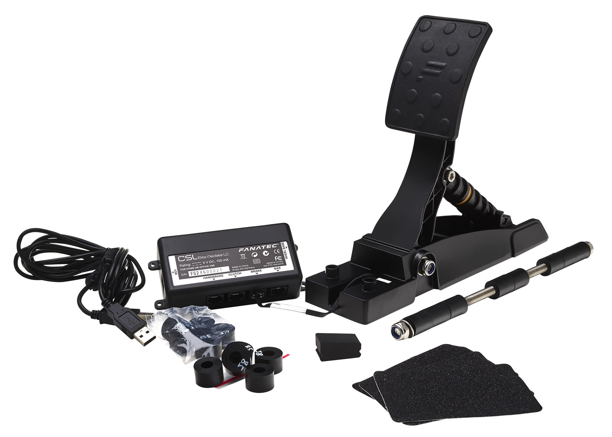 test du p dalier fanatec csl elite pedals lc ps4 xbox one pc jvfrance. Black Bedroom Furniture Sets. Home Design Ideas
