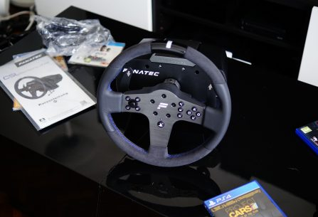 TEST du volant Fanatec CSL Elite Racing Wheel PS4