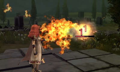 Fire emblem echoes celica fight fire flames