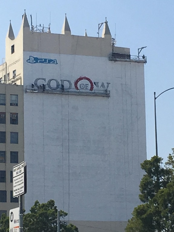 God of War e3 2017 Affiche