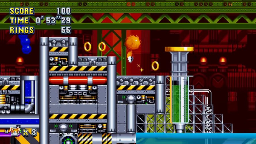Sonic Mania : Du gameplay pour l'éternelle Chemical Plant Zone