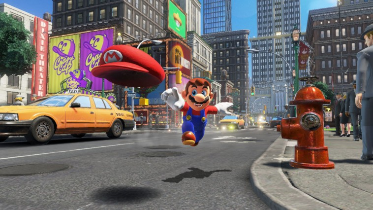 Super Mario Odyssey New Donk City