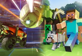 Minecraft et Rocket League : Du cross-play mais sans la PS4