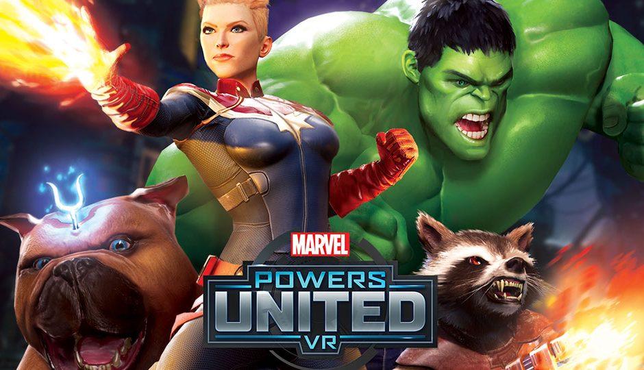 Devenez un héros dans le prochain Marvel Powers United VR