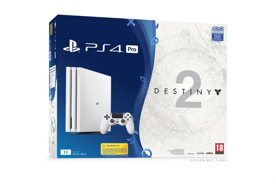 Un blanc éclatant: Bundle PS4 Pro Destiny 2