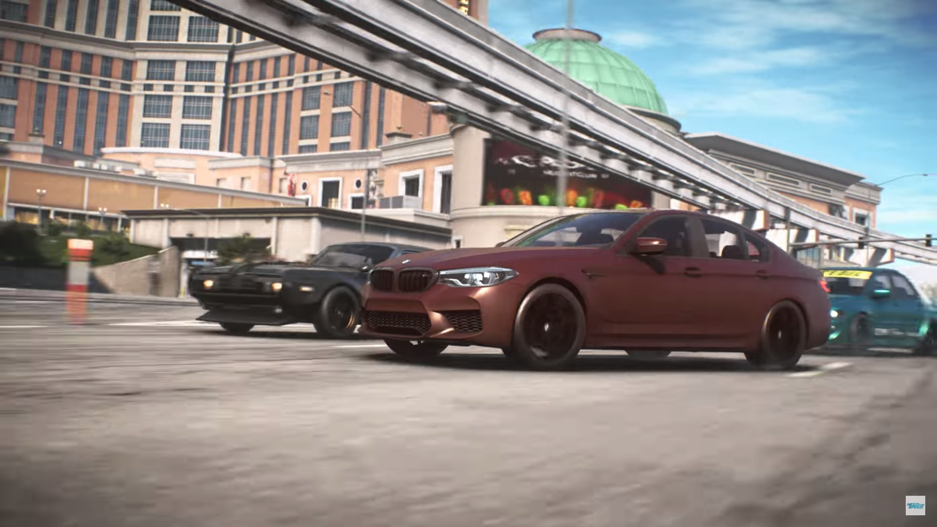 un nouveau trailer de need for speed payback avec la bmw m5 de 2018 jvfrance. Black Bedroom Furniture Sets. Home Design Ideas