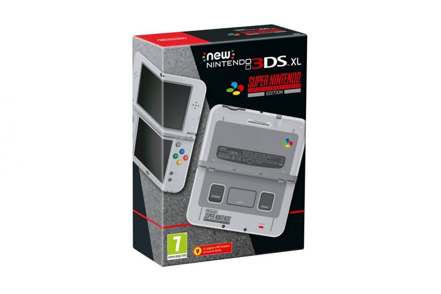 Nintendo annonce la New 3DS XL Super Nintendo en Europe
