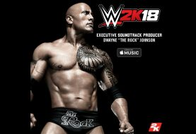 "La playlist de WWE 2K18 sera produite par ""The Rock"""