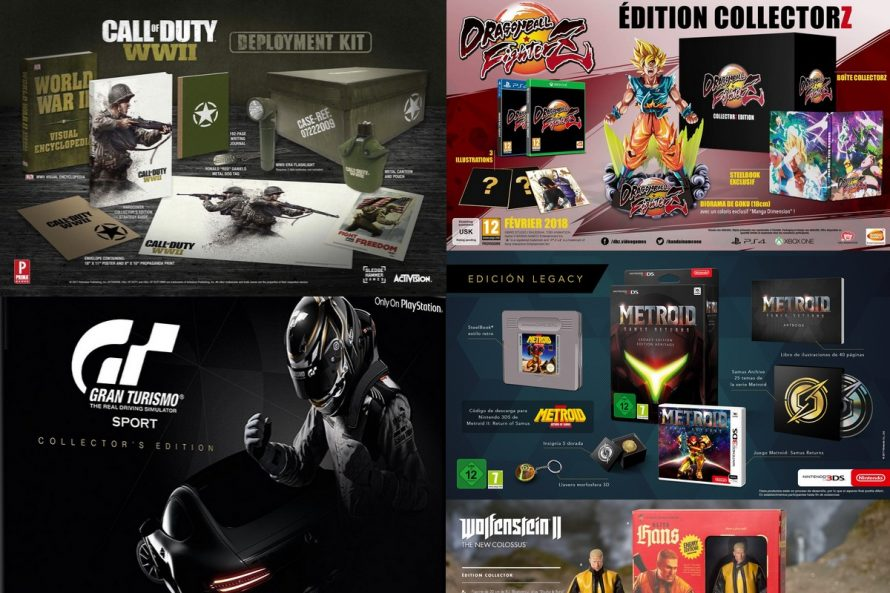 Le GUIDE des éditions collectors (PS4, Xbox One, PC, Switch, 3DS, Wii U)