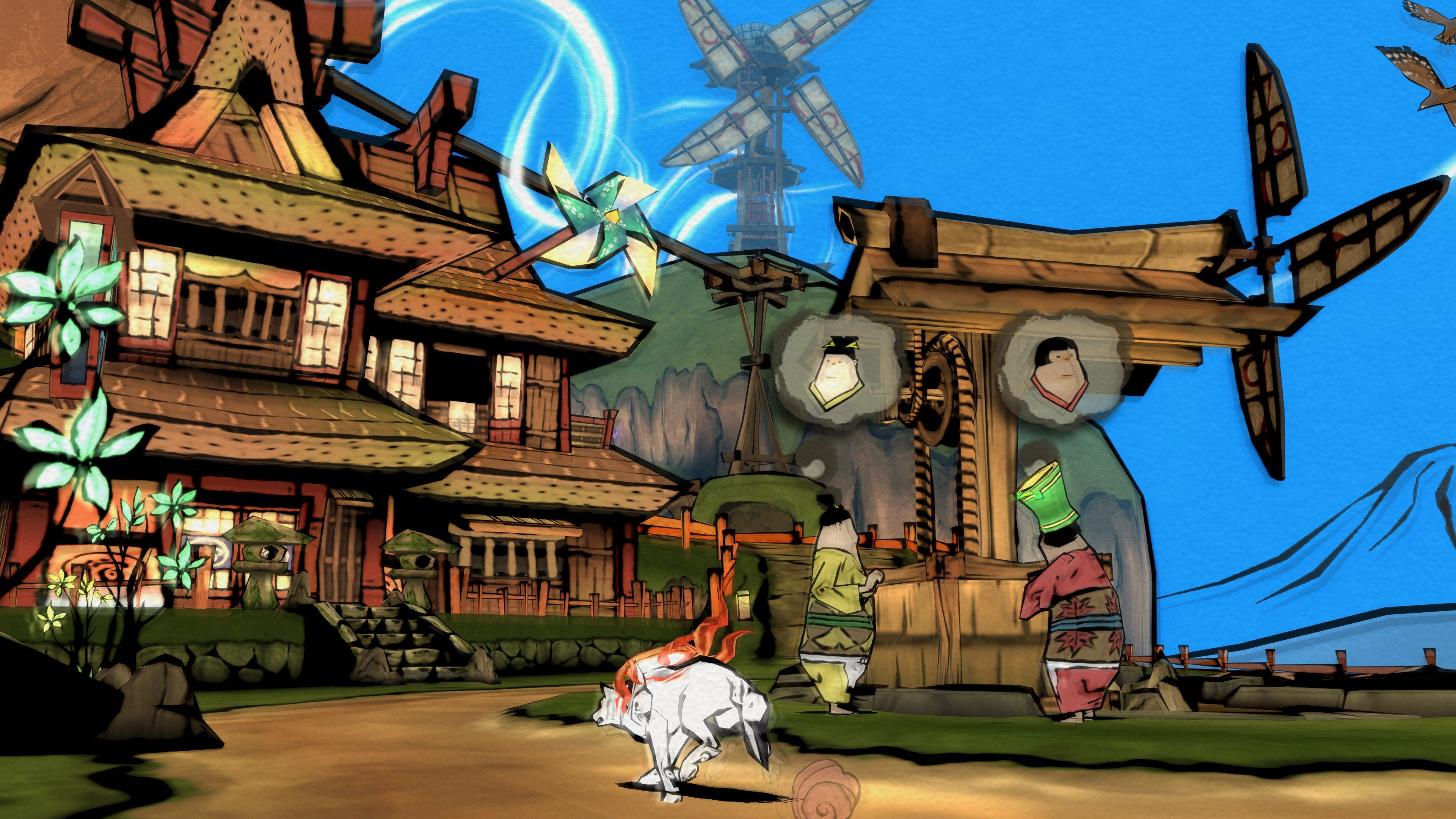 Okami HD trouve date en Europe