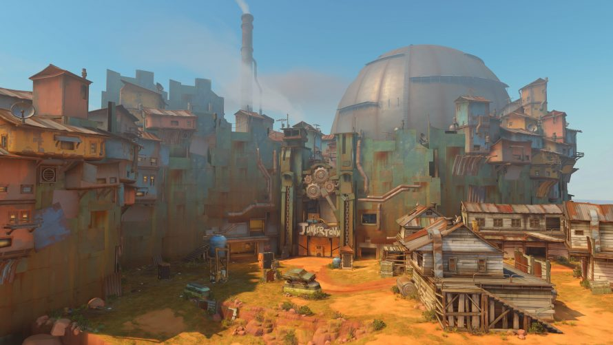 La map Junkertown pour Overwatch est maintenant disponible