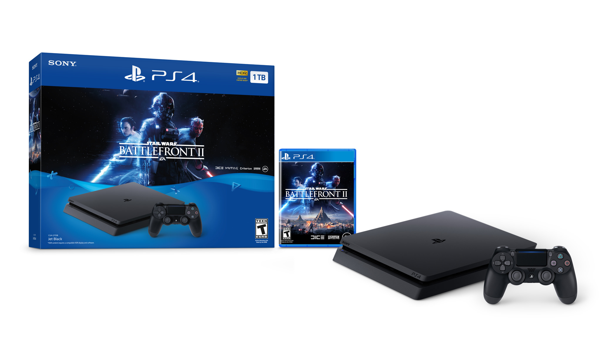 SW Battlefront 2 PS4 bundle