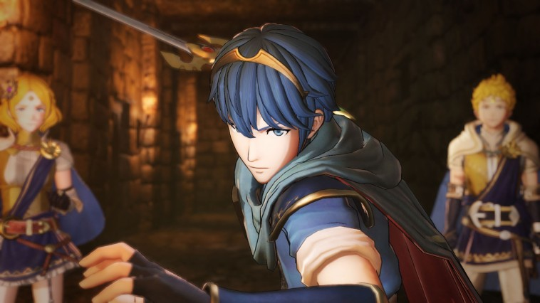 Fire Emblem Warriors Marth