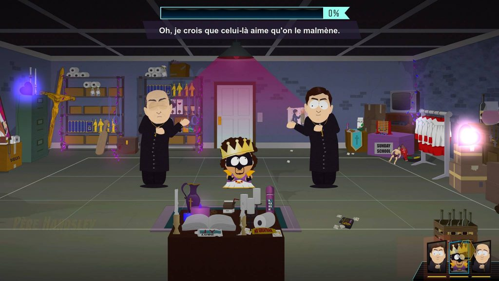 South Park annale du destin combat gameplay