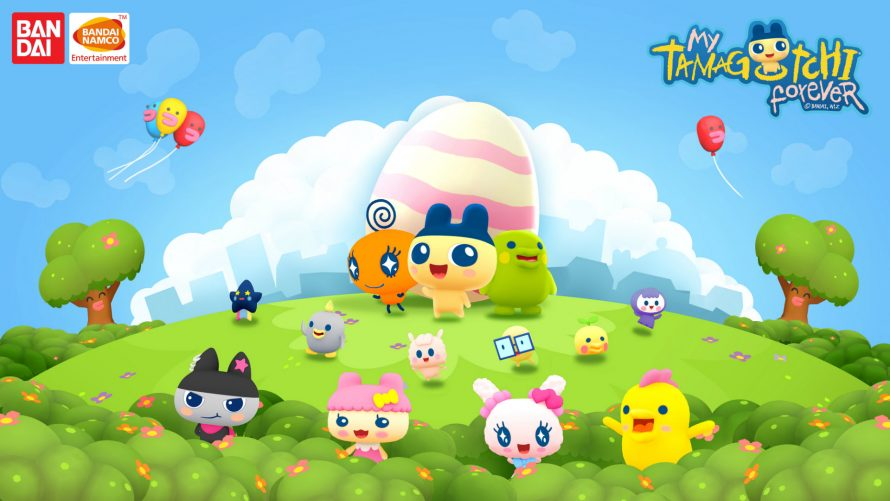 Bandai Namco annonce My Tamagotchi Forever sur mobile