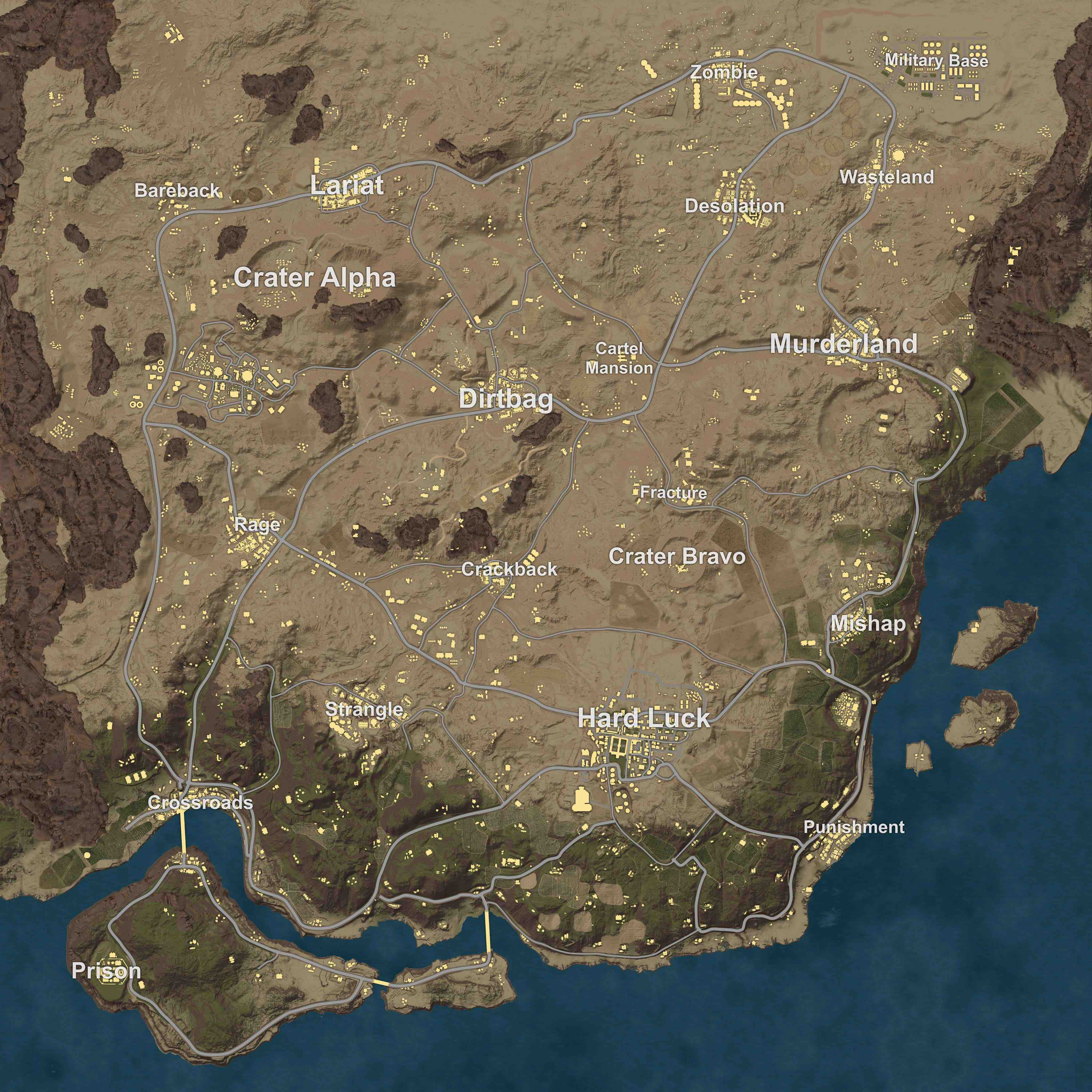 PUBG new map patch 1.00