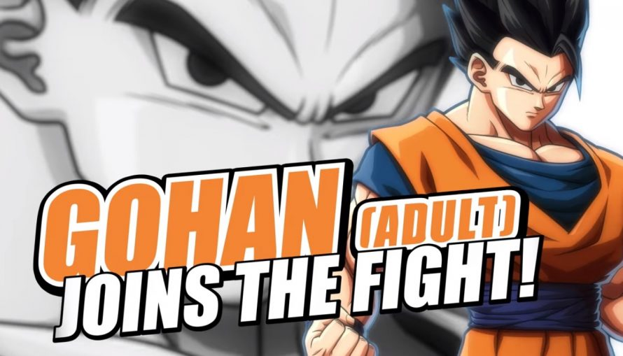 Dragon Ball FighterZ : trailer de Son Gohan adulte