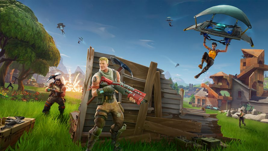 Fortnite Battle Royale : un aperçu de la nouvelle map