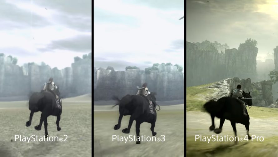 Shadow of the Colossus : Le comparatif PS2 / PS3 / PS4 Pro