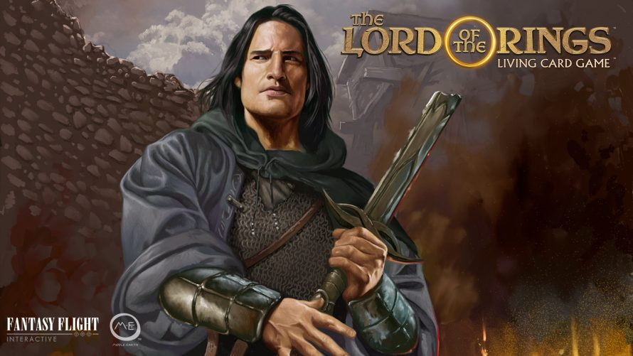 Le jeu de cartes Lord of the Rings Living Card Game annoncé sur PC