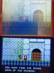 Le modding de MC Will en action sur Castle Of Illusion sur Game Gear